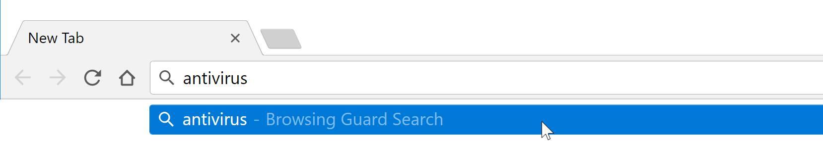 Browsing Guard Search redirect