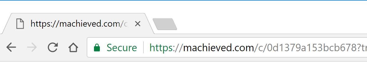 Machieved.com redirect virus
