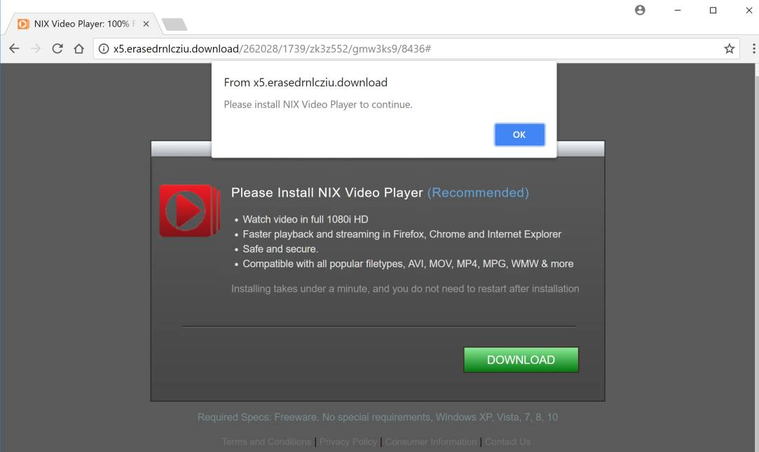 How to remove NIX Video Player pop-up ads (Virus Removal Guide)