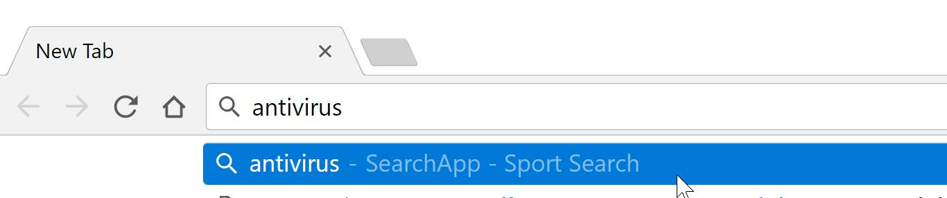 SearchApp - Sport Search redirect