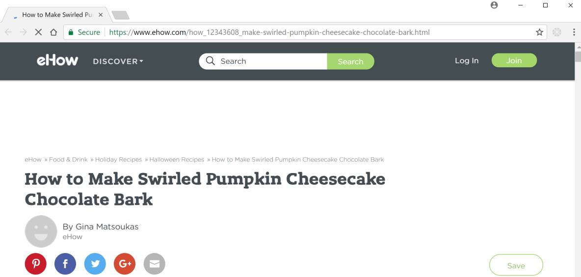 Swirled Pumpkin Cheesecake by cuyp.me adware