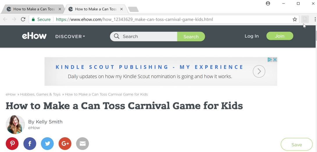 Toss Carnival Game by surt.me adware