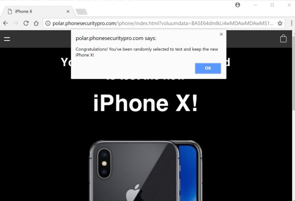 iphone virus scam how to remove quot you ve won an iphone x quot adware survey scam 5462