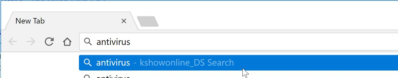 kshowonline_DS Search redirect