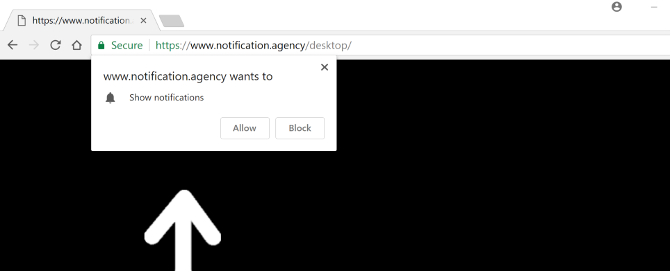 notification.agency scam