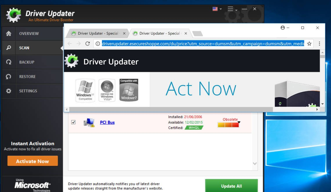 driverupdate.net registration key