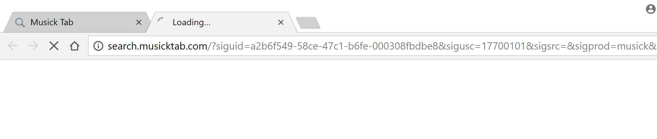 Search.musicktab.com Redirect Virus