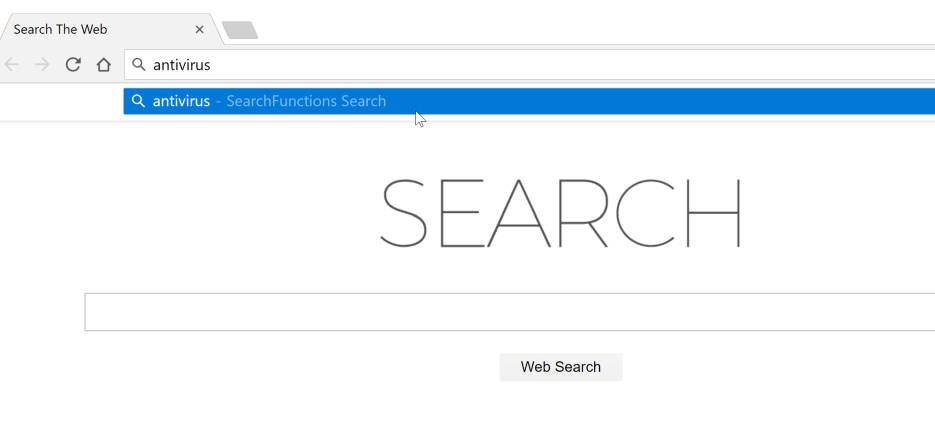 SearchFunctions Search redirect