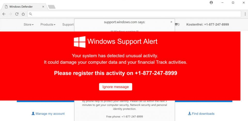 Do Not Ignore This Windows Alert Virus