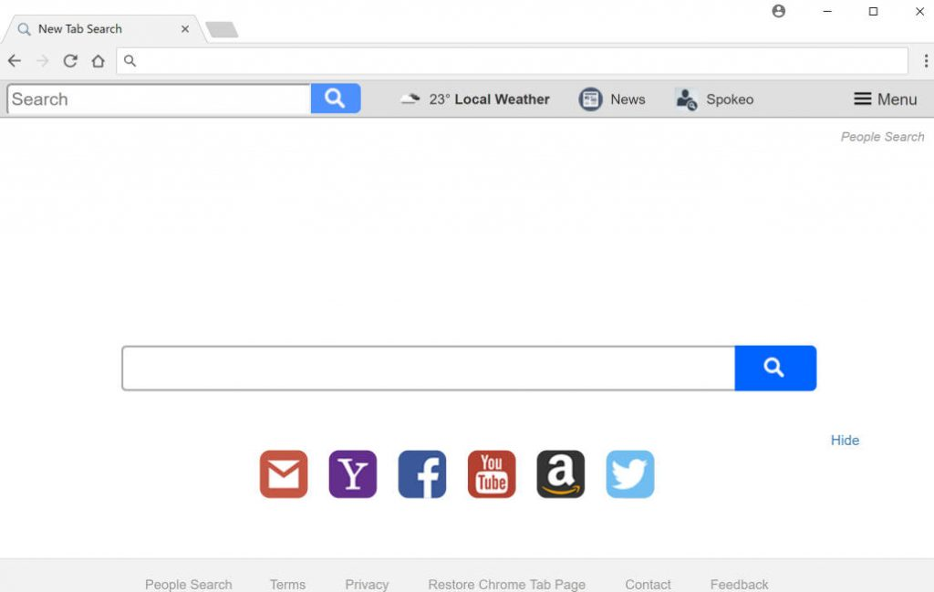 People Search New Tab Search
