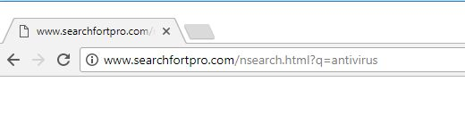 Search Fort Pro Redirect virus