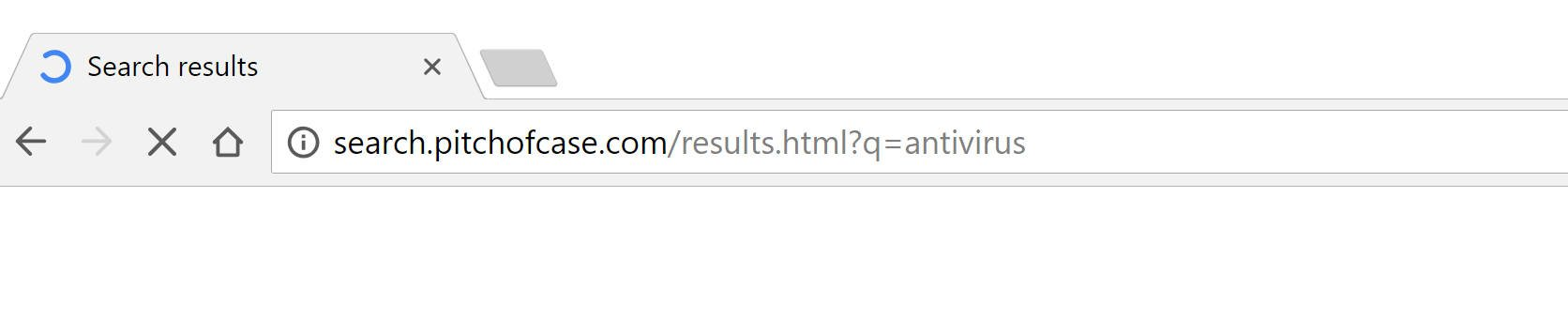 Search.pitchofcase.com Redirect Virus