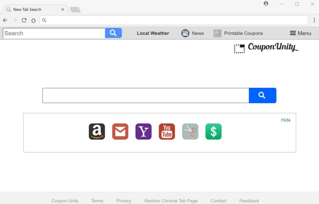 Search.searchcoun2.com Redirect virus