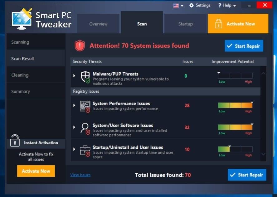 Smart PC Tweaker adware
