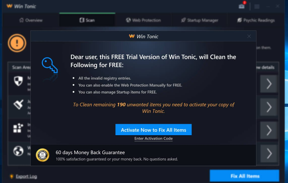 How To Remove Win Tonic (Virus Removal Guide)