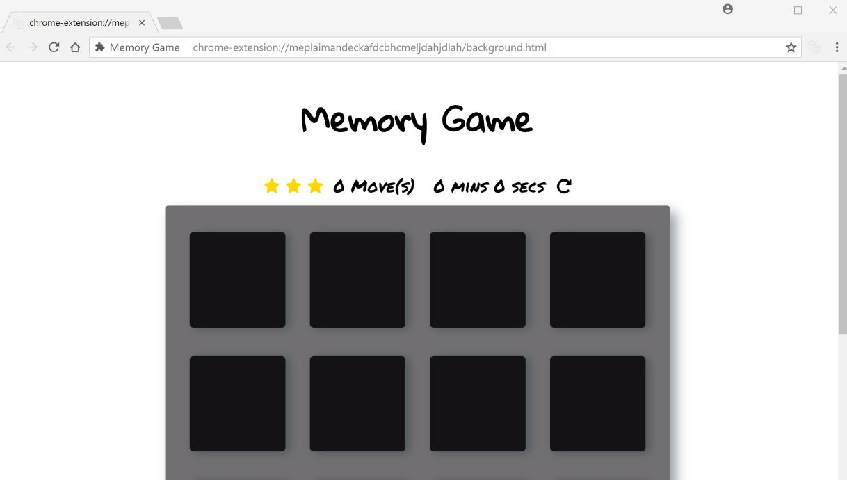 Memory Game by 41newupdate.xyz adware