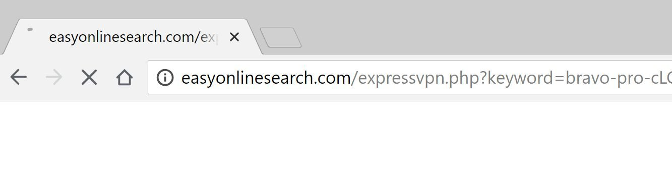 easyonlinesearch.com redirect virus