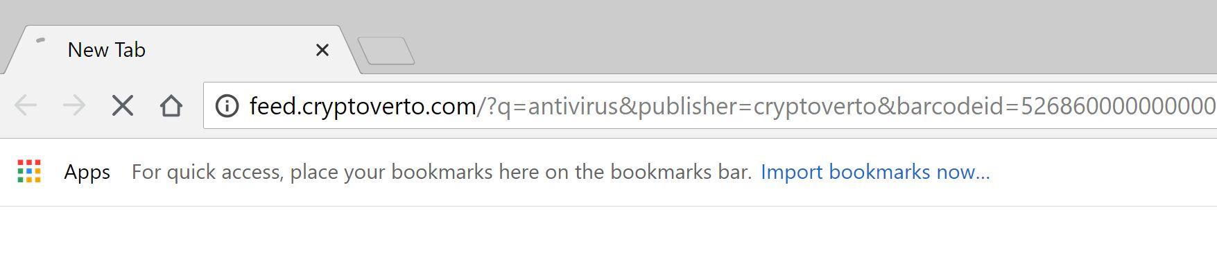 feed.cryptoverto.com redirect virus