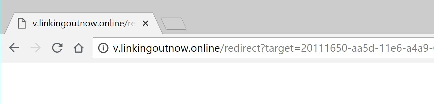 v.linkingoutnow.online pop-up redirect adware