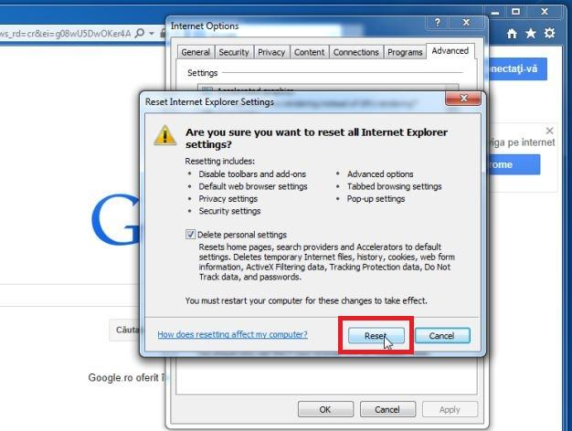 How To Reset Internet Explorer To Its Default Settings (2019