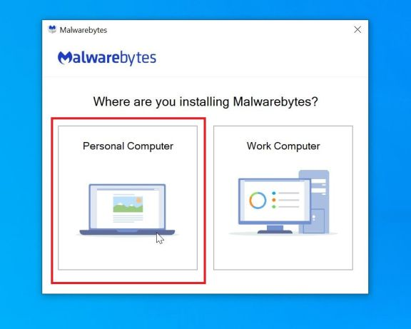Malwarebytes Setup Screen - Help Guide
