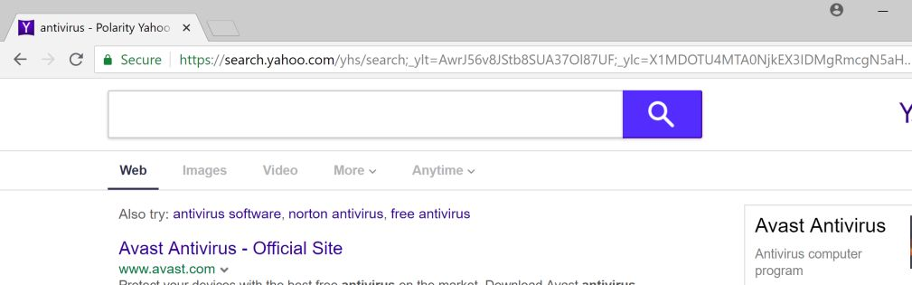 How to remove Polarity Yahoo Search (Virus Removal Guide)
