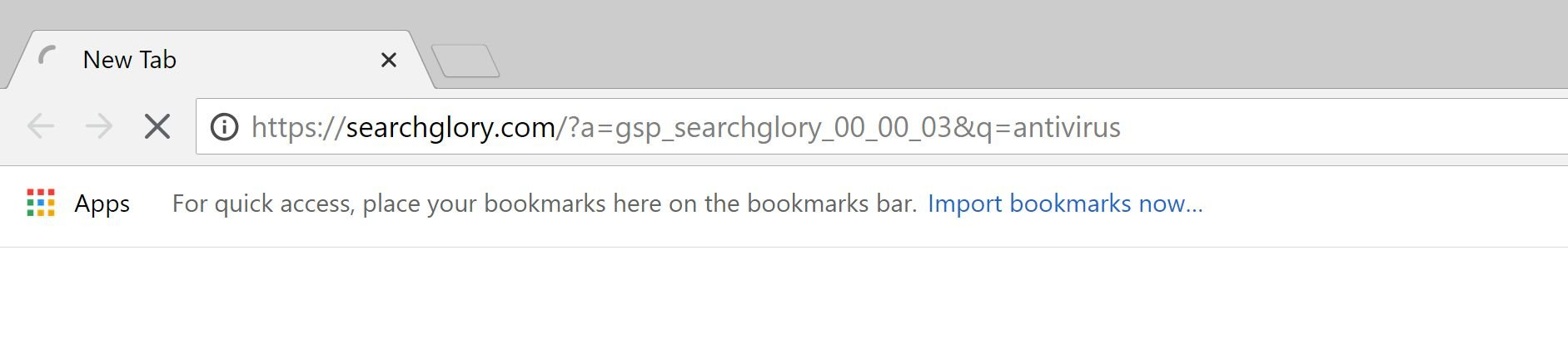 Searchglory.com redirect virus