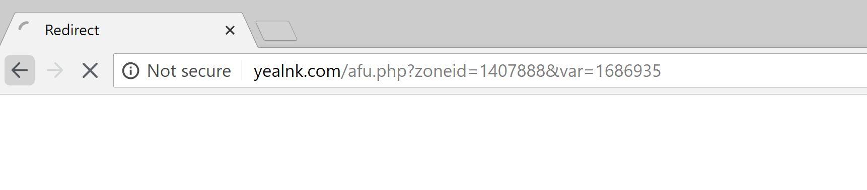 Yealnk.com popup redirect virus