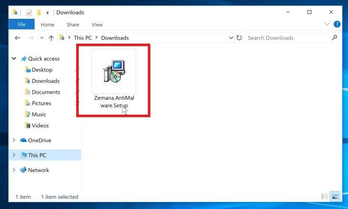 How to remove Trojans, Viruses, Worms and Malware from Windows PC Double-click on the Zemana AntiMalware to instal it