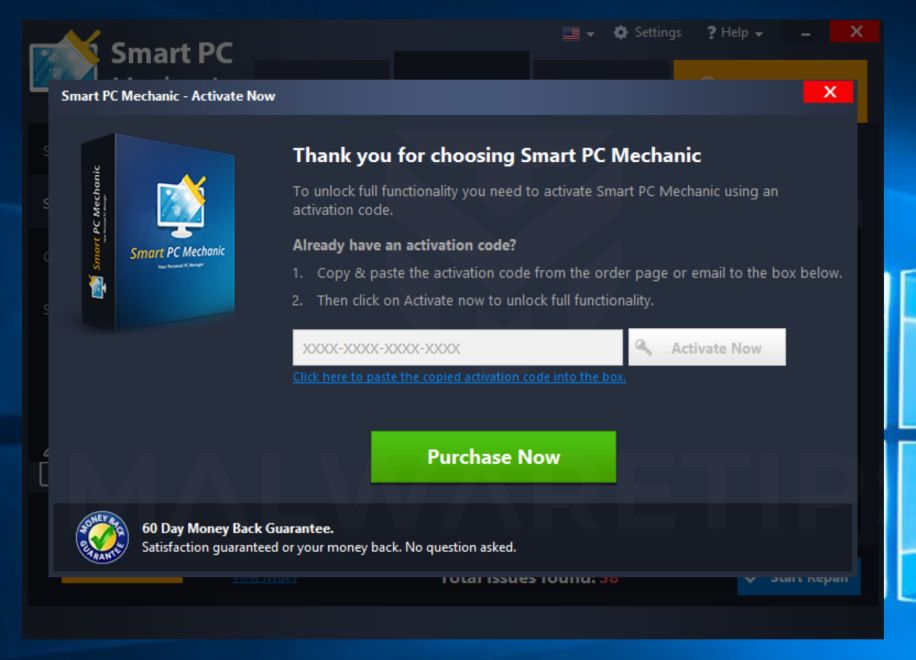 Smart PC Mechanic adware