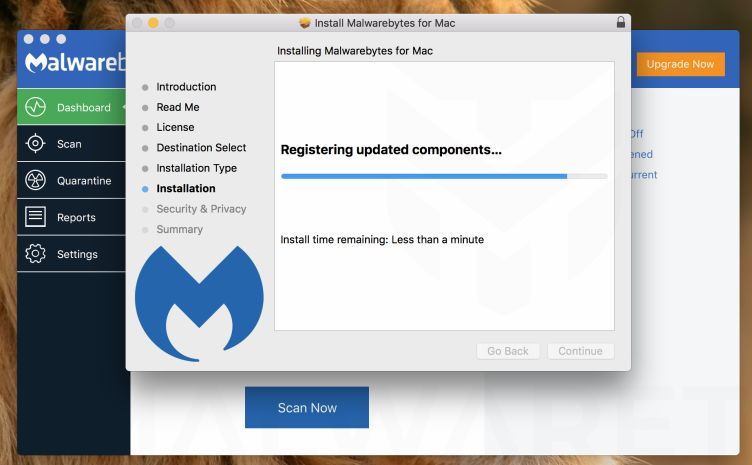 Malwarebytes for Mac - Install Part 4