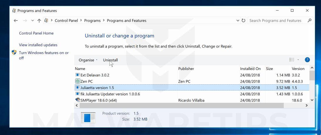 Remove Zen PC