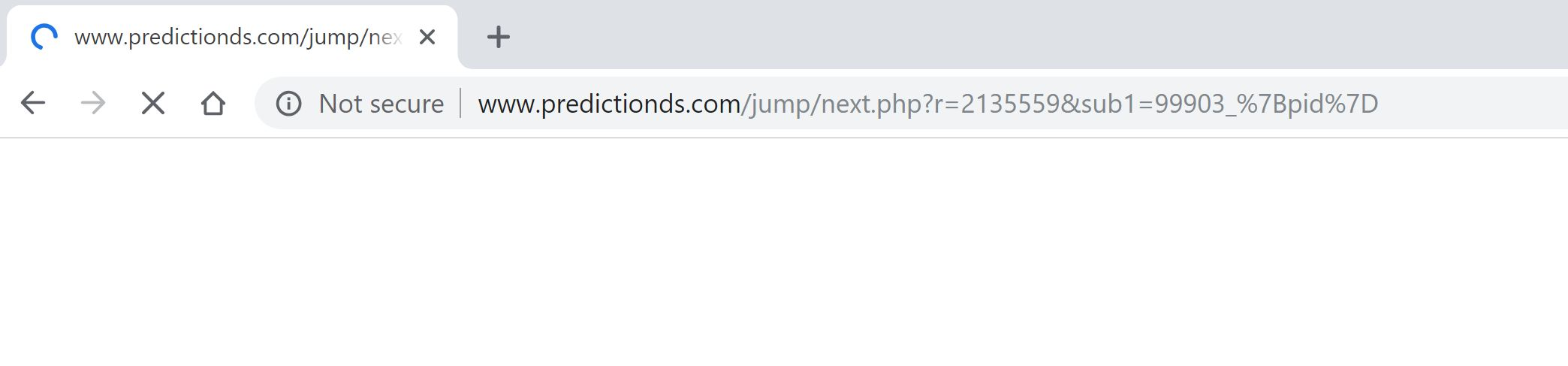 predictionds.com redirect virus