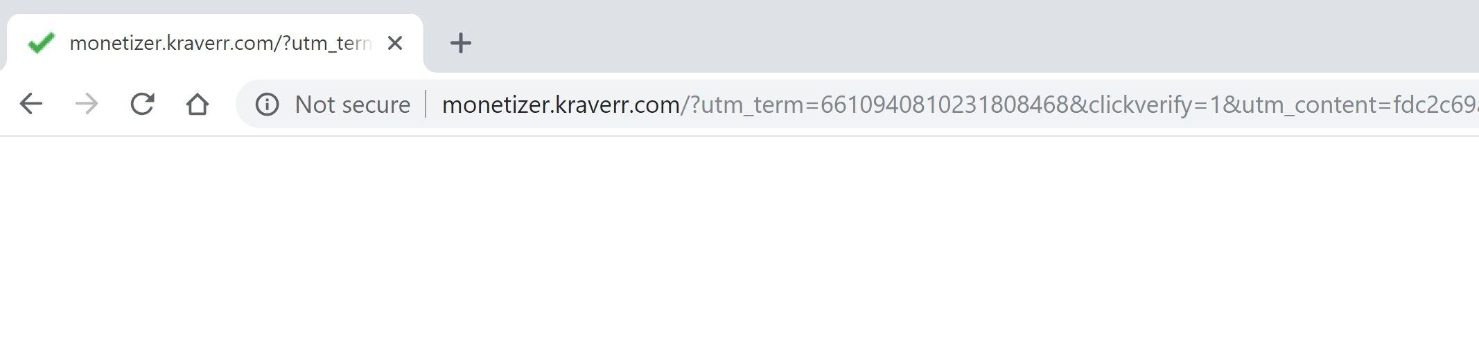 Monetizer.kraverr.com redirect virus
