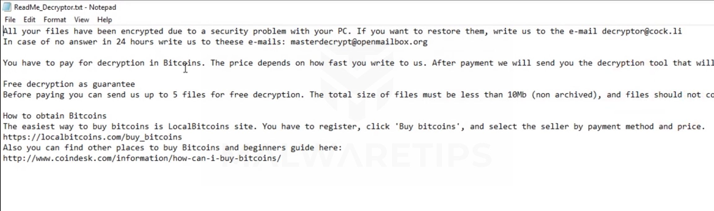 How to remove Cryptmanager@protonmail com Parrot Ransomware