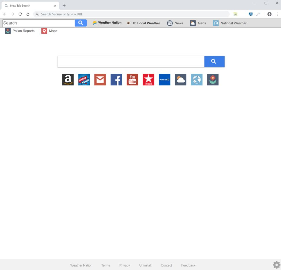 Search.hweathernation.co redirect virus