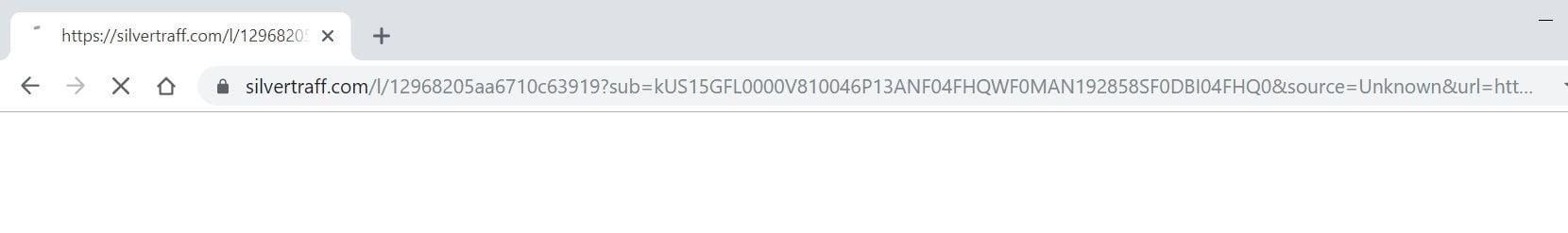 Silvertraff.com redirect virus