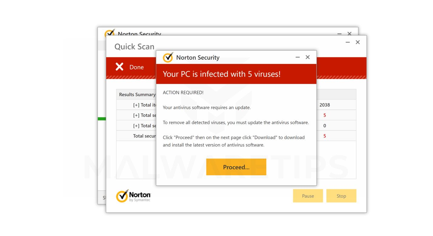 remove all antivirus software