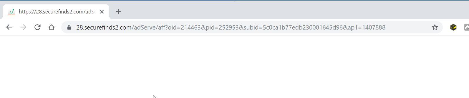 securefinds2.com redirect virus