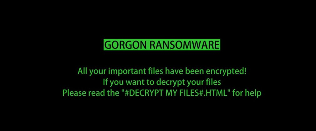 How to remove Gorgon ransomware (Virus Removal Guide)