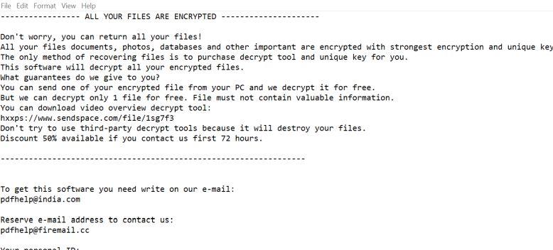 Pdfhelp@india.com Pdffransomware Virus