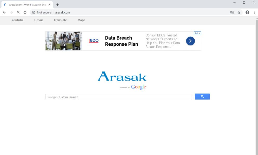 How to remove Arasak com redirect (Virus Removal Guide)