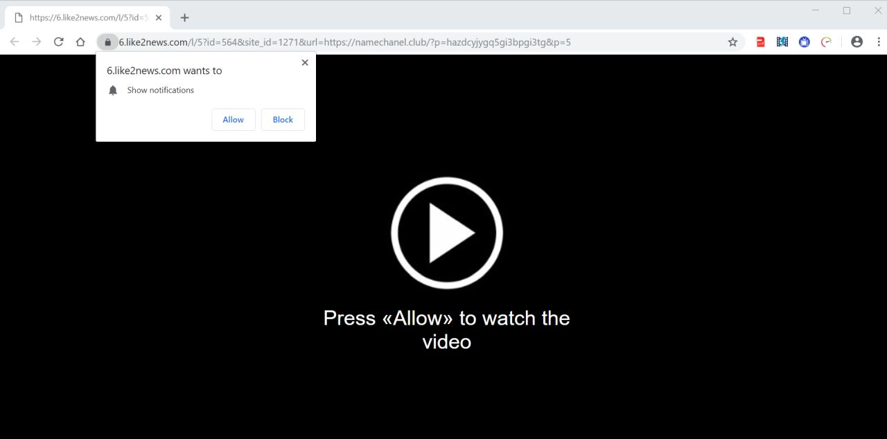 like2news.com redirect virus