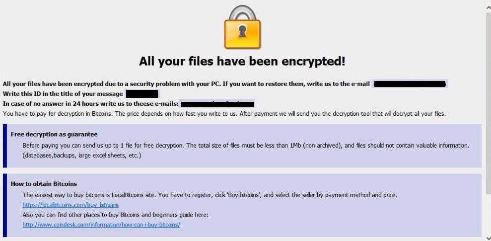 Cryptor55@cock.li Azero Ransomware