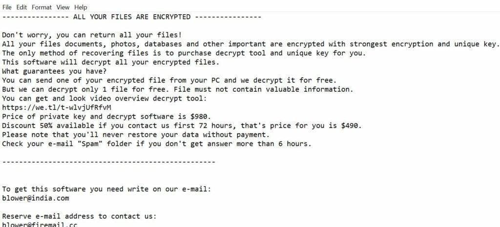 Image Charck ransomware