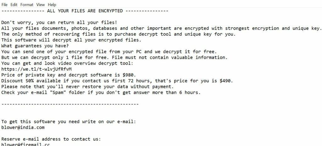 Image Chech ransomware
