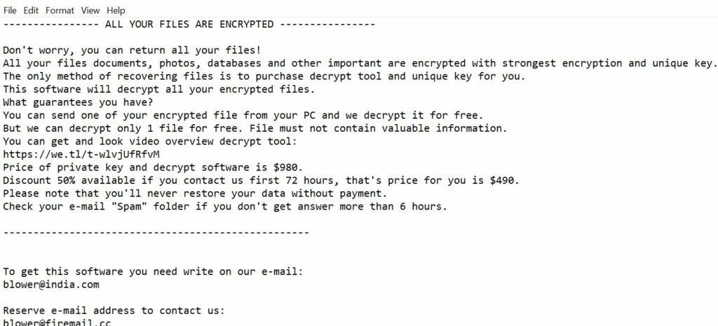 Luces ransomware