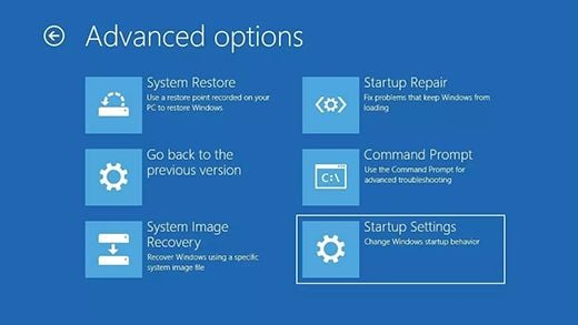 Windows 10 - Start in Safe Mode with Network - Step 3