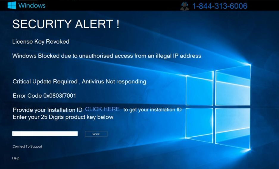 Image: SECURITY ALERT! - Tech Support Scam