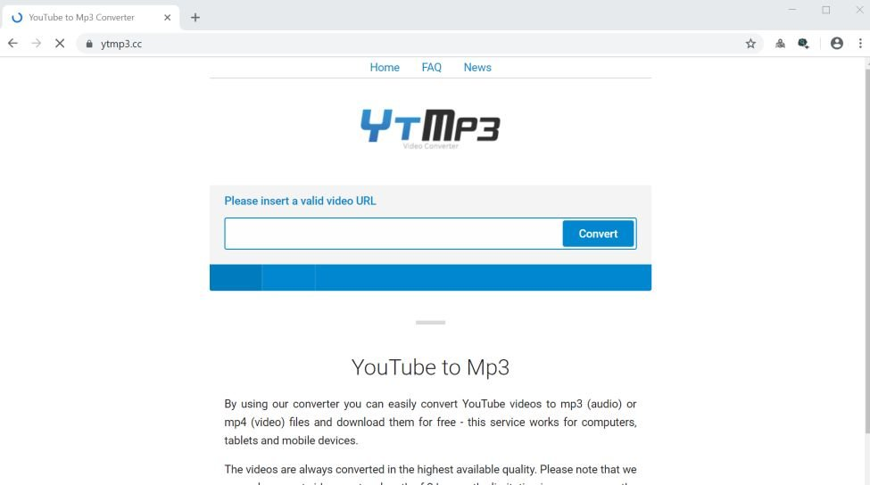 How to remove Ytmp3 cc redirect (Virus Removal Guide)